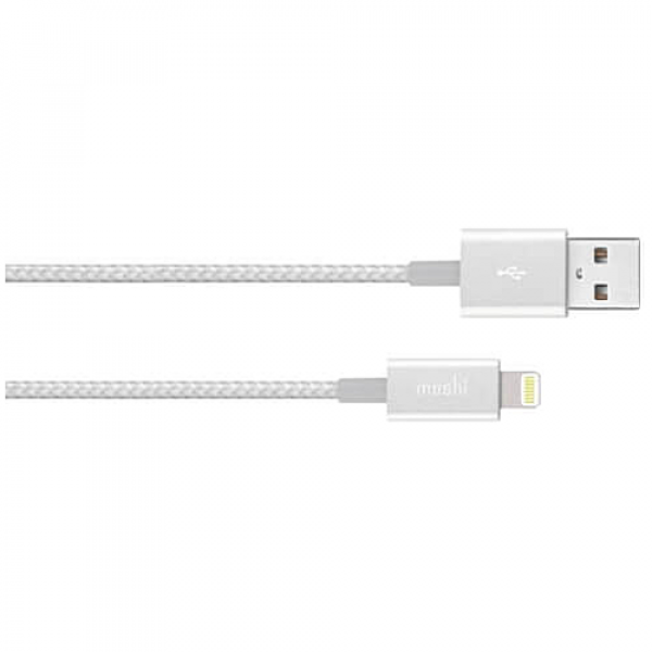 Кабель Moshi Integra™ Lightning to USB Cable Jet Silver (1.2 m) (99MO023104)