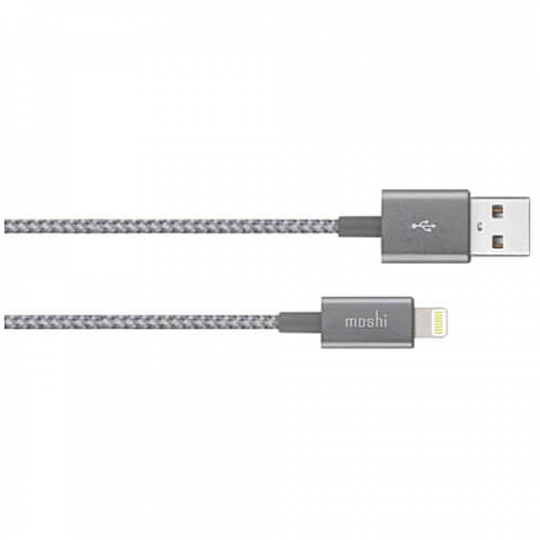 Кабель Moshi Integra™ Lightning to USB Cable Titanium Gray (1.2 m) (99MO023044)