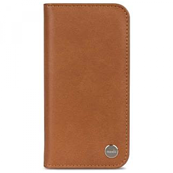 Чехол-книжка Moshi Overture Wallet Case Caramel Brown for iPhone XS/X (99MO101751)