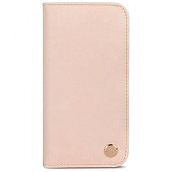Чехол-книжка Moshi Overture Wallet Case Luna Pink for iPhone XS/X (99MO101303)