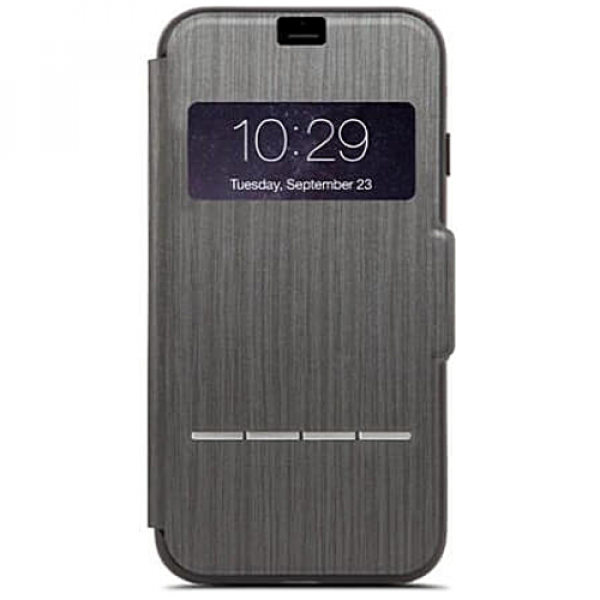 Чехол-накладка Moshi Sensecover Touch Sensitive Flip Case Charcoal Black for iPhone 7Plus/8Plus (99MO072009)