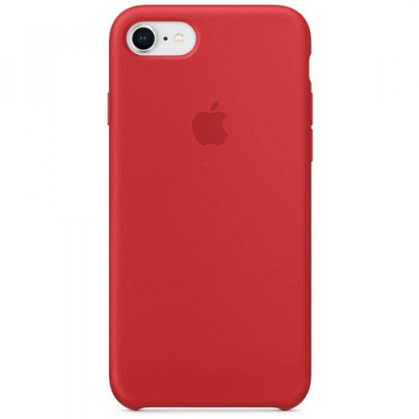 Чехол-накладка Apple iPhone 8 Silicone Case (PRODUCT)RED (MQGP2)