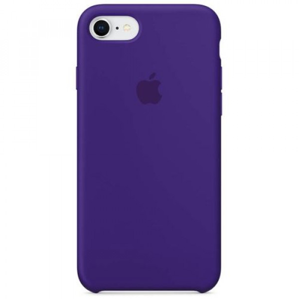 Чехол-накладка Apple iPhone 8 Silicone Case Ultra Violet (MQGR2)