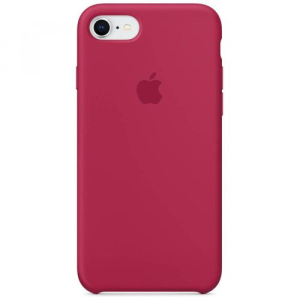 Чехол-накладка Apple iPhone 8/7 Silicone Case Rose Red (MQGT2)