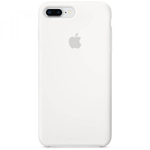 Чехол-накладка Apple iPhone 7Plus/8Plus Silicone Case White (MMQT2)