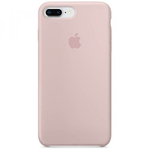 Чехол-накладка Apple iPhone 8Plus Silicone Case Pink Sand (MQH22)