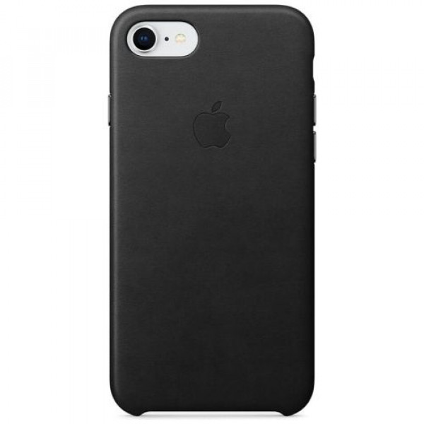Чехол-накладка Apple iPhone 8 Leather Case Black (MQH92)