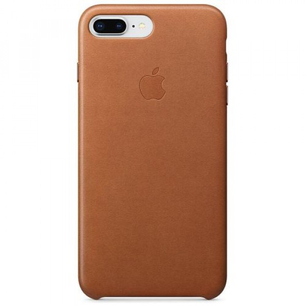 Чехол-накладка Apple iPhone 8Plus Leather Case Saddle Brown (MQHK2)