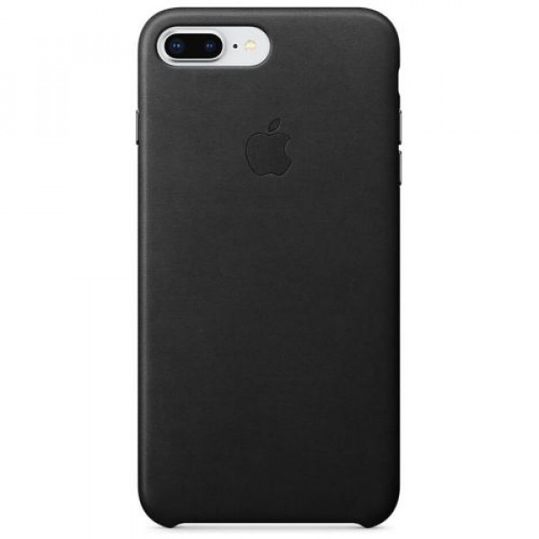 Чехол-накладка Apple iPhone 8 Plus Leather Case Black (MQHM2)