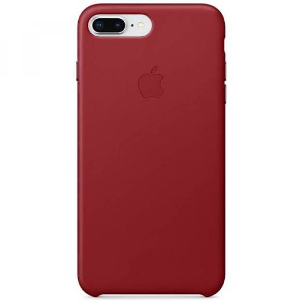 Чехол-накладка Apple iPhone 8 Plus Leather Case (PRODUCT)RED (MQHN2)