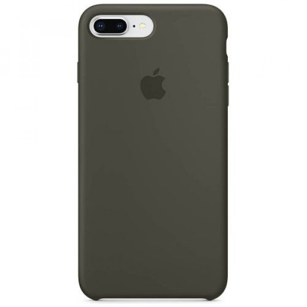 Чехол-накладка Apple iPhone 8Plus/7Plus Silicone Case Dark Olive (MR3Q2)