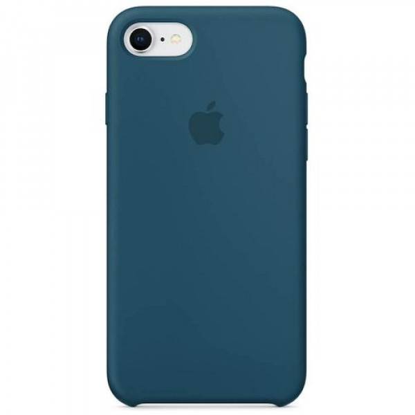 Чехол-накладка Apple iPhone 8/7 Silicone Case Cosmos Blue (MR692)