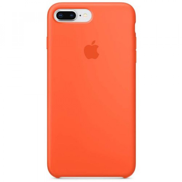 Чехол-накладка Apple iPhone 8Plus/7Plus Silicone Case Spicy Orange (MR6C2)