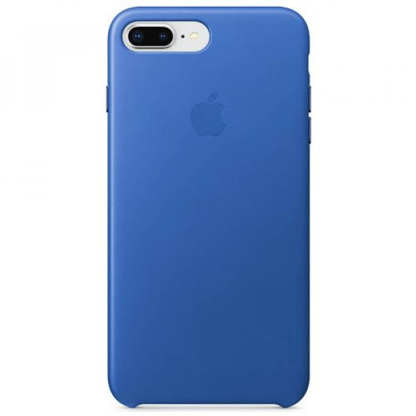 Чехол-накладка Apple iPhone 8Plus/7Plus Leather Case Electric Blue (MRG92)