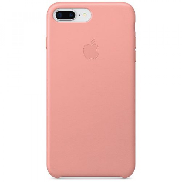 Чехол-накладка Apple iPhone 8Plus/7Plus Leather Case Soft Pink (MRGA2)