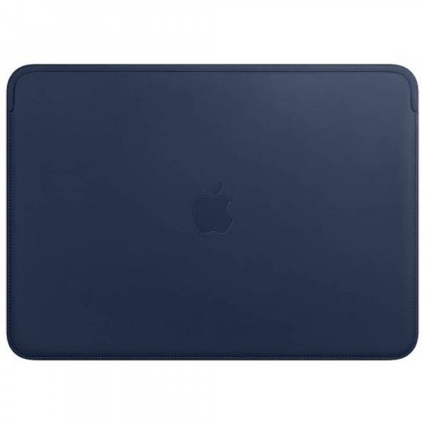 Чехол-папка Apple Leather Sleeve for 13 inch MacBook Pro Midnight Blue (MRQL2)
