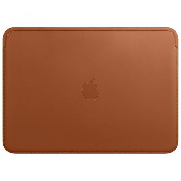 Чехол-папка Apple Leather Sleeve for 13 inch MacBook Pro Saddle Brown (MRQM2)
