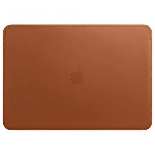 Чехол-папка Apple Leather Sleeve for 15 inch MacBook Pro Saddle Brown (MRQV2)