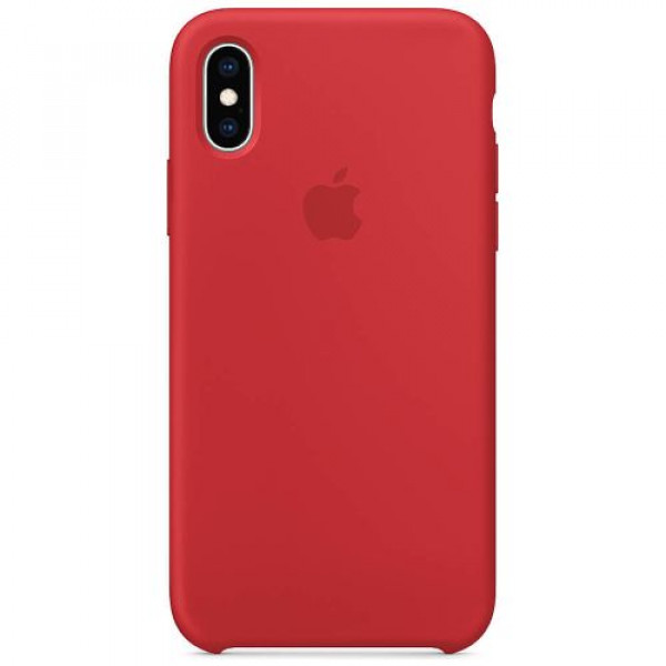 Чехол-накладка Apple iPhone XS Silicone Case (PRODUCT)RED (MRWC2)