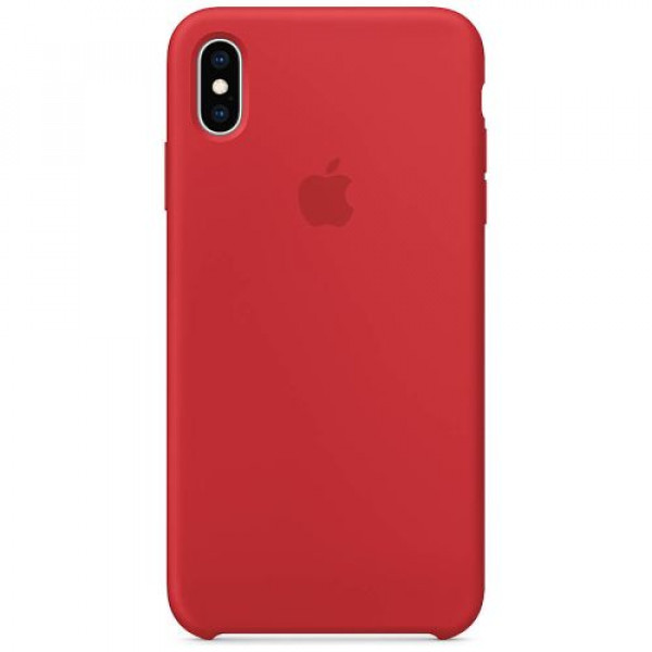 Чехол-накладка Apple iPhone XS Max Silicone Case (PRODUCT)RED (MRWH2)