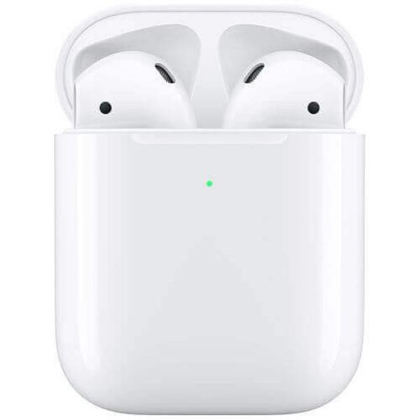 Наушники Apple AirPods 2019 (2 поколения) с возможностью беспроводной зарядки (MRXJ2) (OPEN BOX)