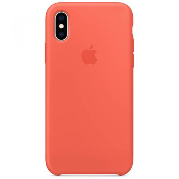 Чехол-накладка Apple iPhone XS Silicone Case Nectarine (MTFA2)