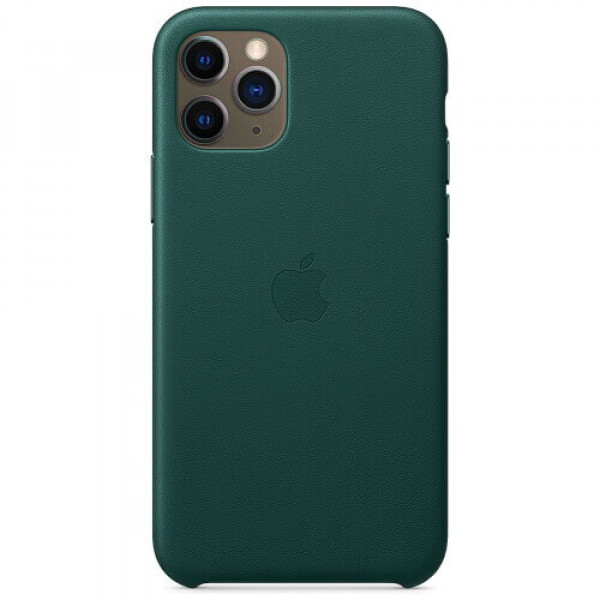 Чехол-накладка Apple iPhone 11 Pro Leather Case Forest Green (MWYC2)