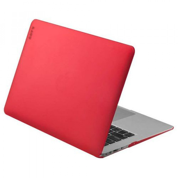 Чехол-накладка LAUT HUEX for MacBook Air 13'' red (LAUT_MA13_HX_R)