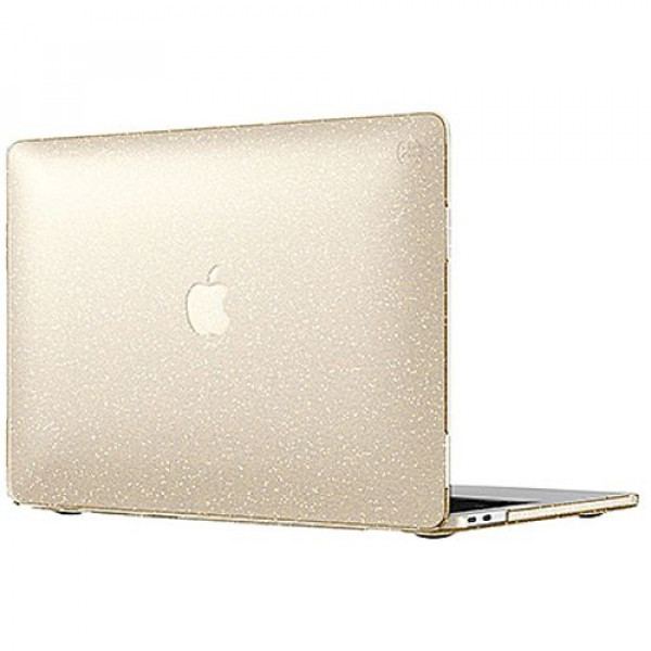 Чехол-накладка Speck MacBook Pro 13'' with Touch Bar Smartshell Clear With Gold Glitter/Clear (SP-90207-5636)