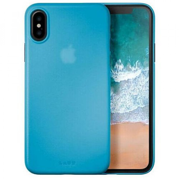 Чехол-накладка Laut SLIMSKIN for iPhone X Blue (Laut_IP8_SS_BL)