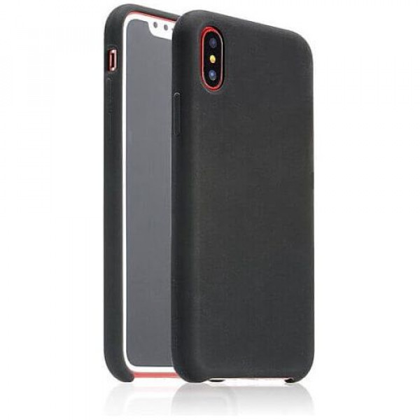 Чехол-накладка COTEetCI Silicon Case for iPhone X Black (CS8012-BK)
