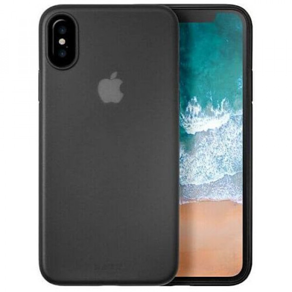 Чехол-накладка Laut SLIMSKIN for iPhone X Black (Laut_IP8_SS_BK)