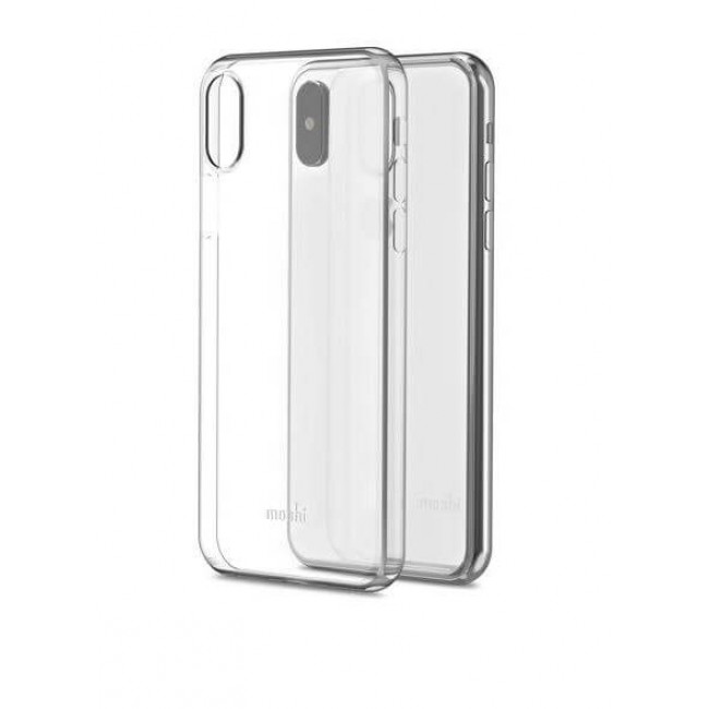 Чехол-накладка Moshi SuperSkin Exceptionally Thin Protective Case Crystal Clear for iPhone XS/X (99MO111903)