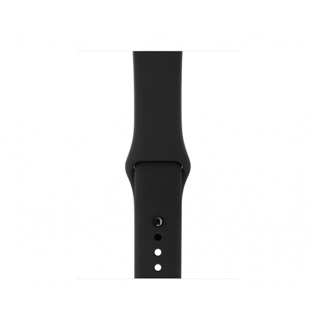 Apple WATCH Series 2, 42mm Space Gray Aluminium Case with Black Sport Band (MP062)