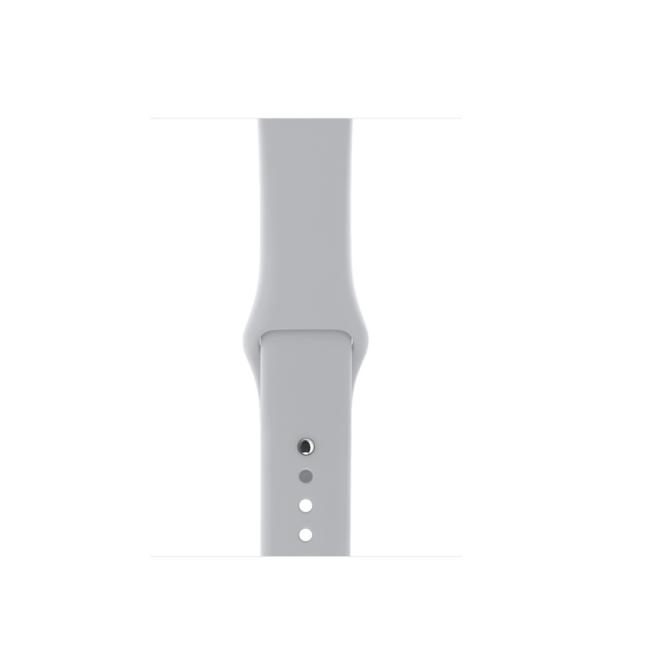 Apple WATCH Series 3, 38mm Silver Aluminium Case with Fog Sport Band (MQKU2)