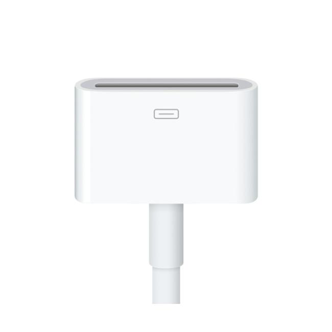 Переходник Apple Lightning to 30-pin Adapter (0.2m) MD824