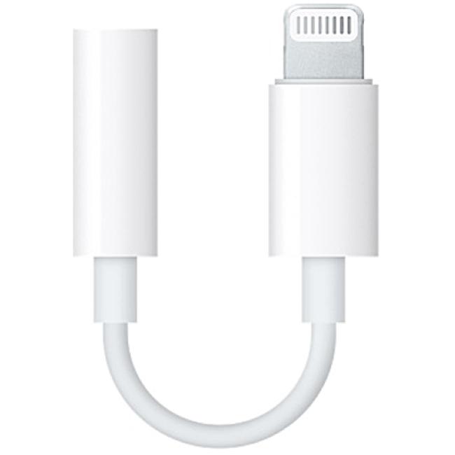 Переходник Apple Lightning to 3.5 mm Headphone Jack Adapter (MMX62)