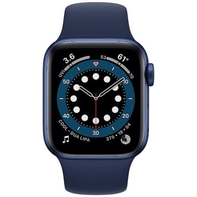 Apple WATCH Series 6 44mm Blue Aluminium Case with Blue Sport Band (M00J3)