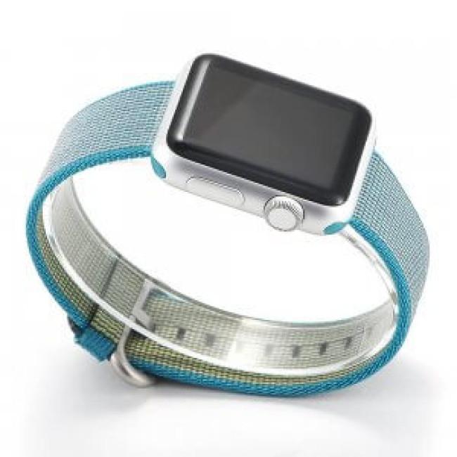 Ремешок COTEetCI W11 Nylon Band for Apple Watch 42mm Blue (WH5215-BL)