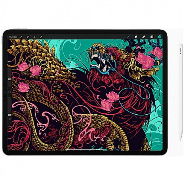 iPad Pro 12.9'' Wi-Fi + Cellular 256GB Space Gray 2020 (MXFX2, MXF52)