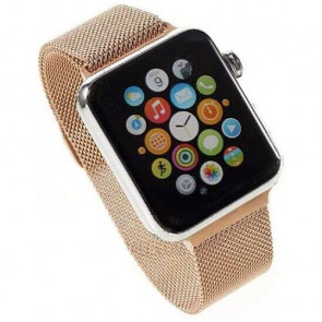 Ремешок COTEetCI W6 Magnet Band for Apple Watch 38mm Rose Gold