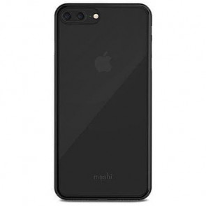 Чехол-накладка Moshi SuperSkin Exceptionally Thin Protective Case Stealth Black for iPhone 8Plus/7Plus (99MO11106)