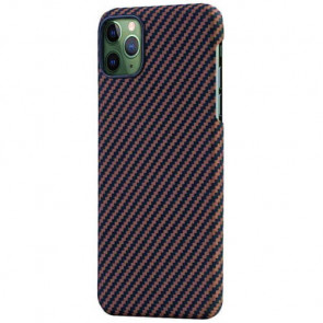 Чехол-накладка Pitaka MagEZ Black/Rose Gold for iPhone 11 Pro Max (KI1106M)