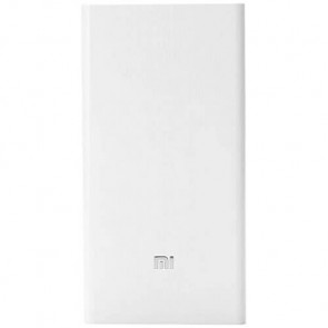 Внешний аккумулятор XIAOMI Mi Power Bank 2C 20000 mAh White (PLM06ZM)