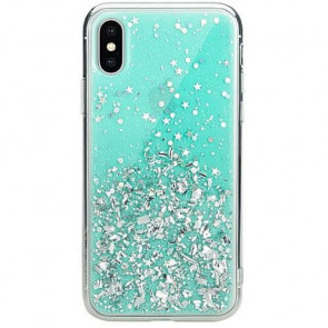Чехол-накладка Switcheasy Starfield Case For iPhone XS Max Mint (GS-103-46-171-57)