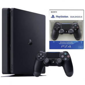 Игровая приставка Sony PlayStation 4 Slim (PS4 Slim) 500GB Black DualShock Bundle