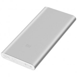 Внешний аккумулятор XIAOMI Mi Power Bank 2 10000 mAh QC2.0 (2.4A2USB) Silver (VXN4228CN)