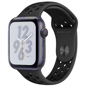 Apple WATCH Nike+ Series 4 GPS 44mm Space Gray Aluminum Case with Anthracite/Black Nike Sport Band (MU6L2)
