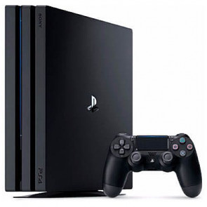 Игровая приставка Sony PlayStation 4 Pro (PS4 Pro) 1TB Black