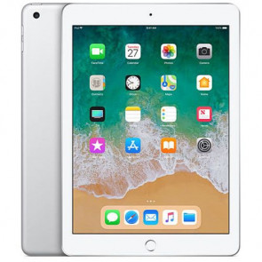 iPad Wi-Fi + Cellular 32GB Silver 2018 (MR6P2)